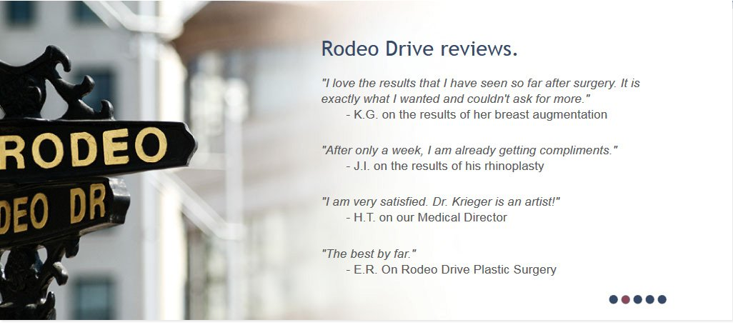 Rodeo Drive Plastic Surgery Reviews